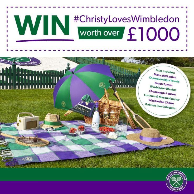 wimbledon themed prizes