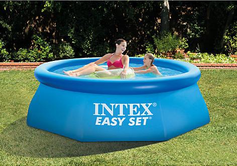 8ft intex easy set pool