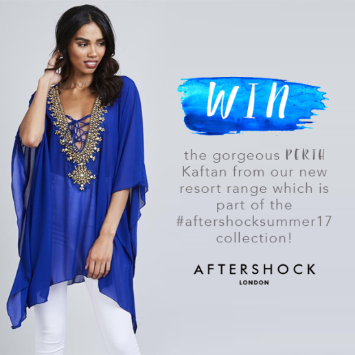 aftershock london perth kaftan