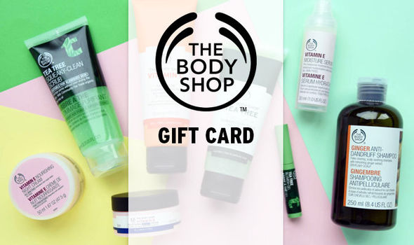 body shop gift card