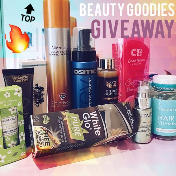 bundle of beauty goodies
