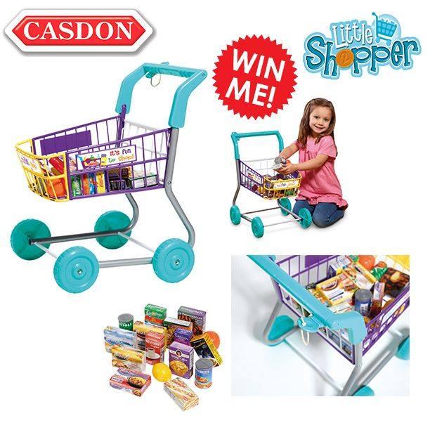 casdon toys shopping trolley