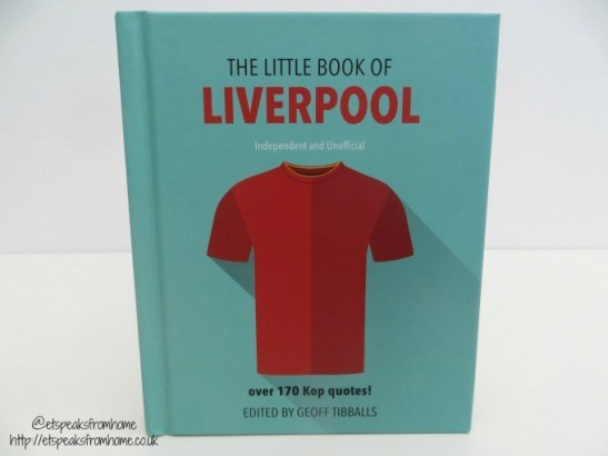 copy of the little book of liverpool fc