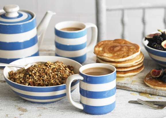 cornishware breakfast set