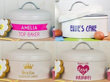 cream cake tin