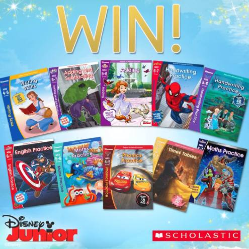 disney learning book bundle