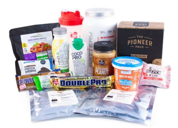 healthy supplies fitness hamper
