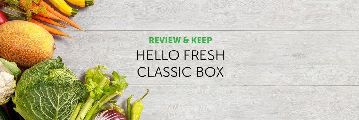 hellow fresh classic box