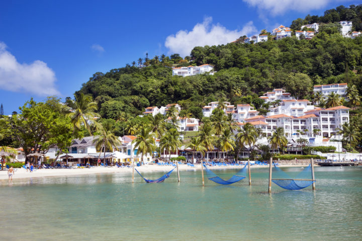 holiday for 2 in st lucia