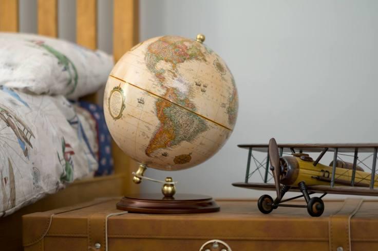 keats desktop globe