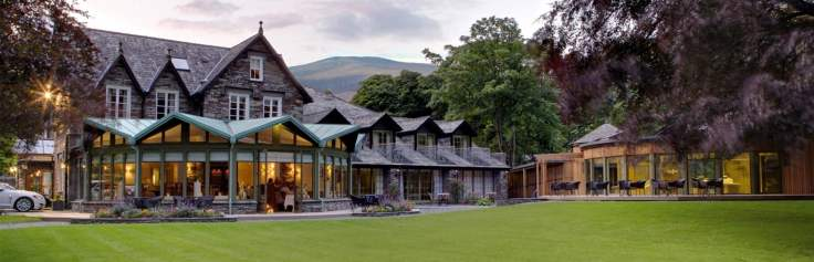 luxurious overnight stay for 2 in the lake district