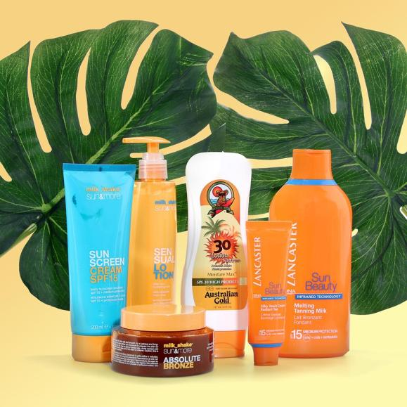luxury sun care bundle