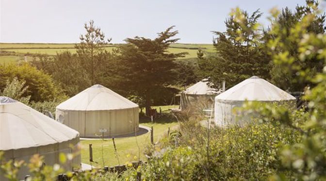 luxury yurt retreat