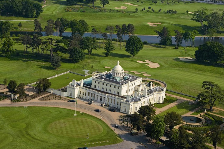 overnight stay & golf at stoke park