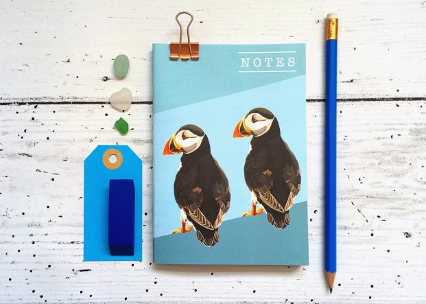 puffin notebook