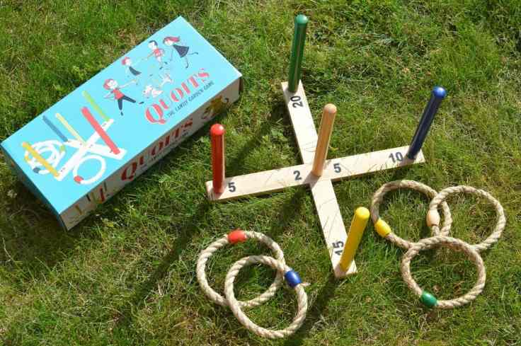 quoits garden game