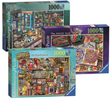 ravensburger puzzle bundle