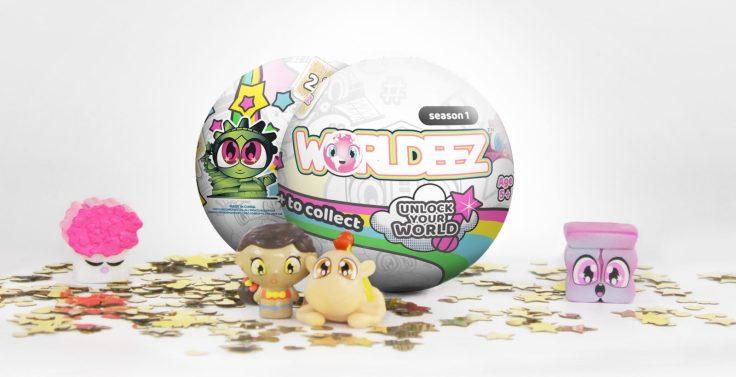 selection of worldeez toys