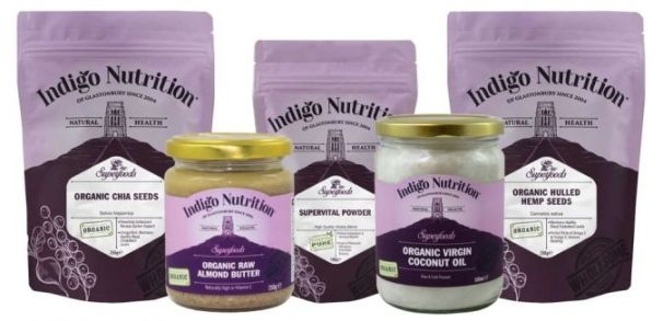 superfood hamper from indigo herbs