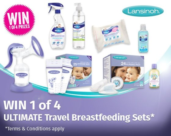 travel breastfeeding kit