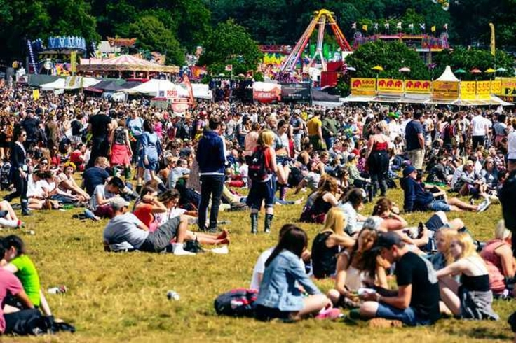 vip tickets to v festival