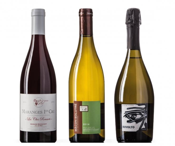 3 cases of wine