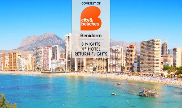 3 night holiday to benidorm