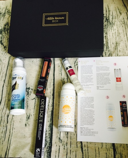 beauty box from little known