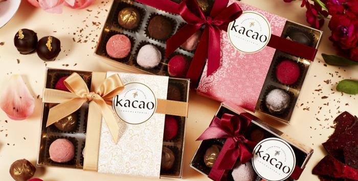 chocolate hamper from kacao