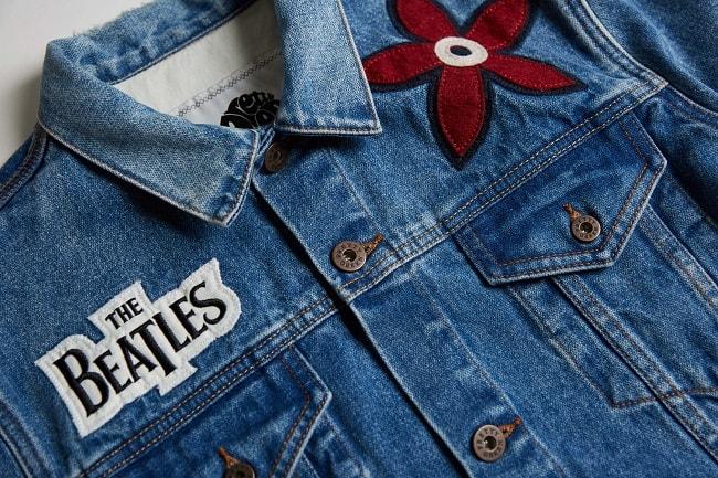exclusive beatles denim jacket