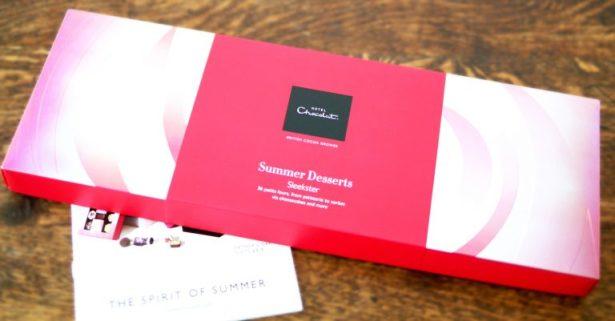 hotel chocolate summer desserts