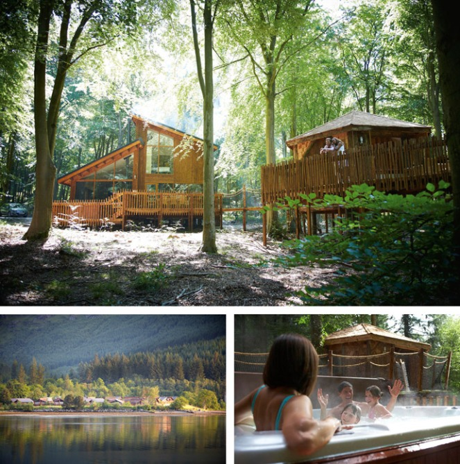 luxury break for 6 with forest holidays