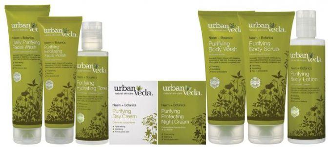 skincare set from urban veda