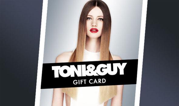 toni & guy gift card