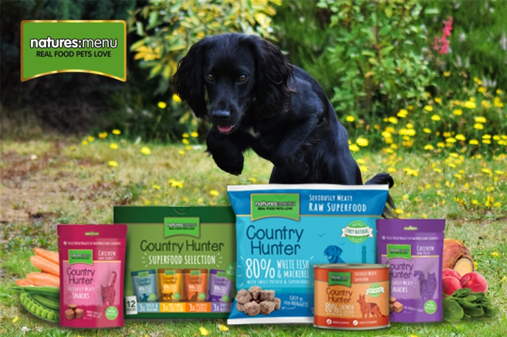 Month's supply of dog food