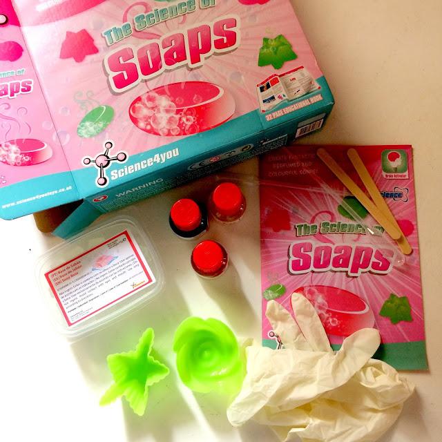 science of soap kit