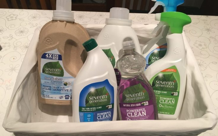 seventh generation cleaning hamper